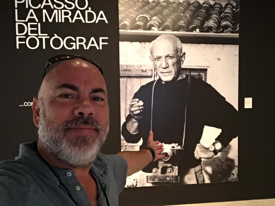 With Picasso in Barcelona