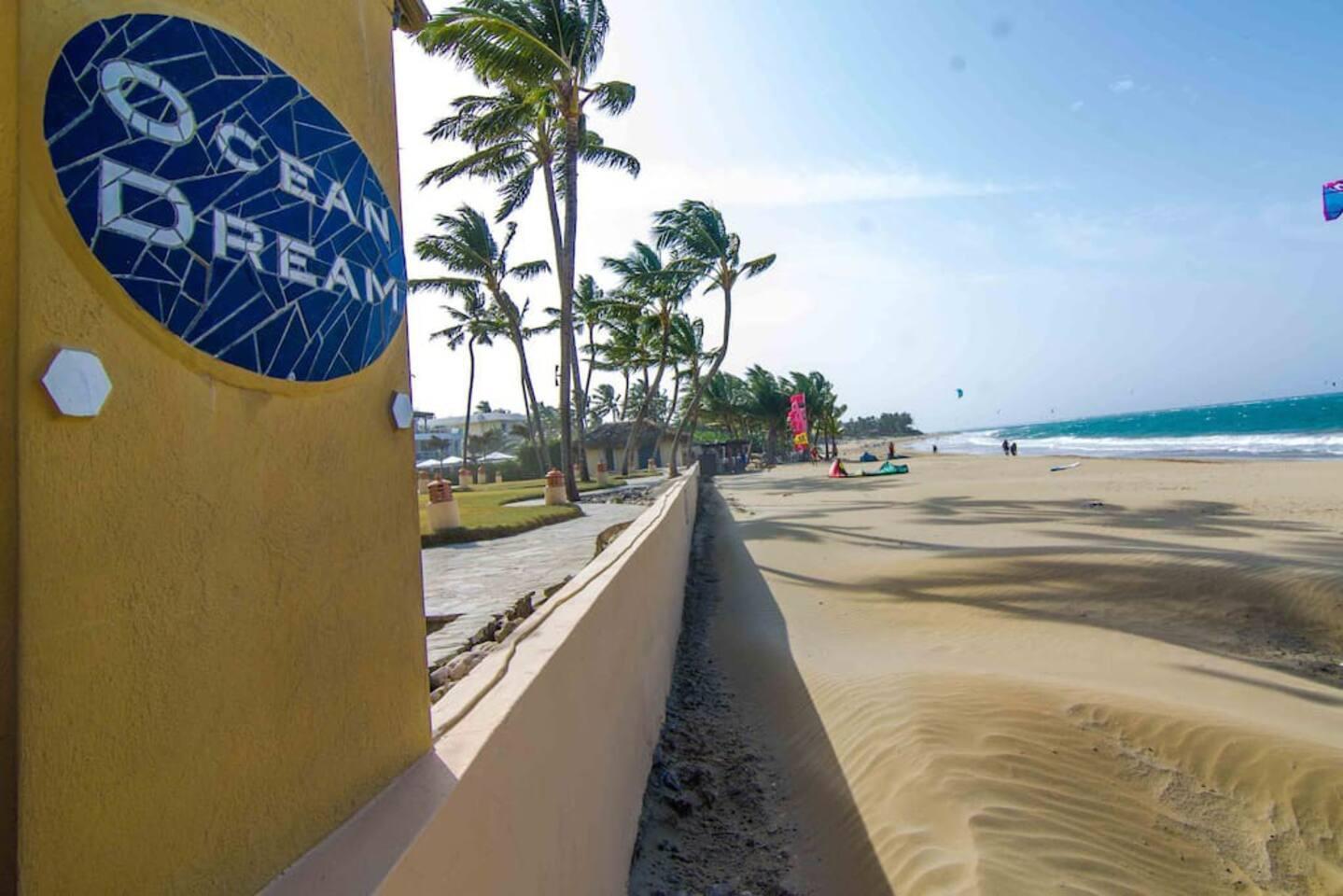Secure Beach Entrance