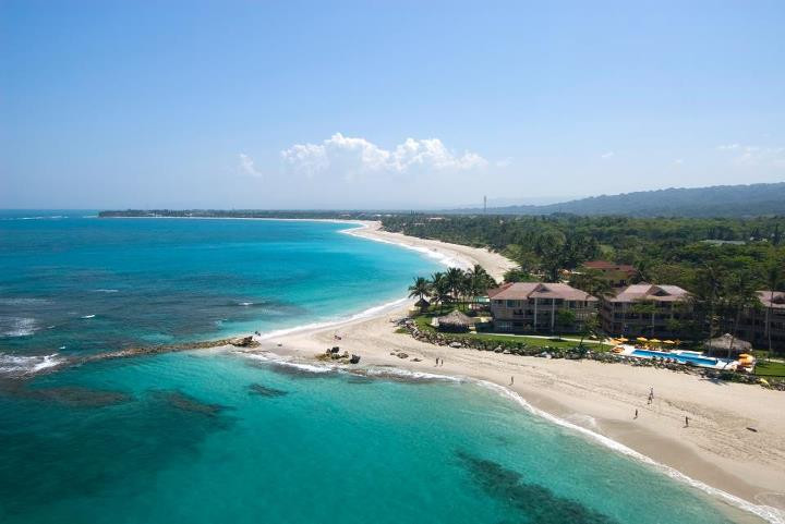 Aerial-Cabarete and Kite Beach