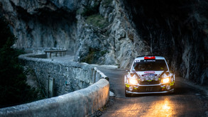 Welshman holds slender Friday lead over Frenchman with Tänak still in contention.