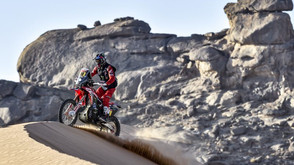 25th stage win and leadership in the Dakar for Joan Barreda