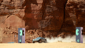 Rosberg X Racing makes history as first Extreme E winner following dramatic desert dust-up