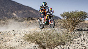 TOP-FIVE RESULTS FOR PRICE AND SUNDERLAND ON TECHNICAL DAKAR STAGE FIVE