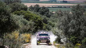 Al Attiyah il più veloce nella super stage all'Andalucia Rally ma domani ha scelto di partire 3°