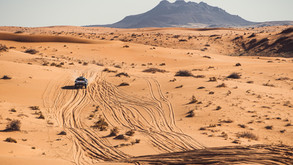 SAINZ EXACTS REVENGE ON AL-ATTIYAH WITH FASTEST TIME ON OPENING STAGE OF HAIL BAJA 2