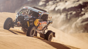 Three-time champion Al-Attiyah banks Stage Two victory to move up
