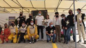 Galletti-Maroni vincono il Grecia per le auto. Successo dei bulgari Velkov-Nikolaev fra gli SSV.