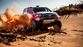 AL-ATTIYAH LEADS FROM SAINZ AFTER OPENING DESERT STAGE OF HAIL BAJA 1