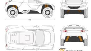 Disegnare la livrea della GCK Thunder per la Dakar 2022: in palio 10 mila euro