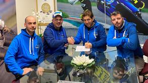 Cambio casa: Boano Racing si veste di azzurro con TM
