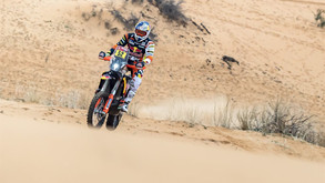 POSITIVE OPENING LEG OF DAKAR RALLY MARATHON STAGE FOR KTM