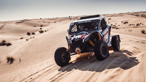 SOUTH RACING CAN-AM TEAM'S LEBEDEV TRIUMPHS IN FIA T4 CATEGORY AT DUBAI INTERNATIONAL BAJA