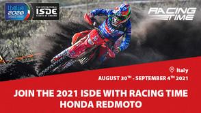 ISDE 2021: Honda RedMoto World Enduro Team offre assistenza, noleggio moto e servizio ricambi