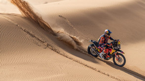 TOBY PRICE LEADS DAKAR RALLY AT HALFWAY STAGE