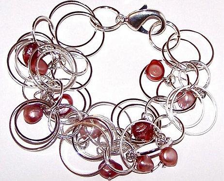 Hoops Rings of Coral
