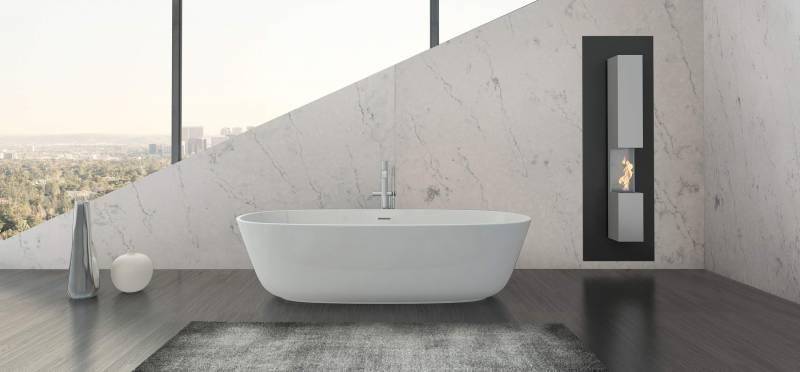 Corian Quartz in the Bathroom