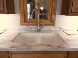 Corian sink undermount sink