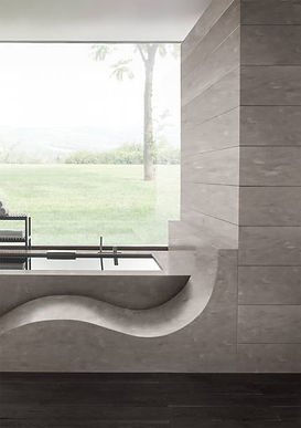 Bath Wall & Lounge Corian Ash Concrete.j