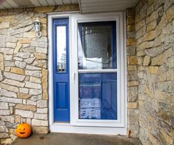 Front Door and storm doors