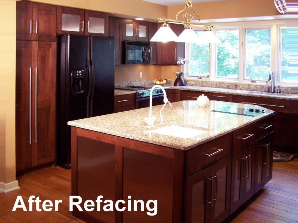 kitchen cabinet reface makeover