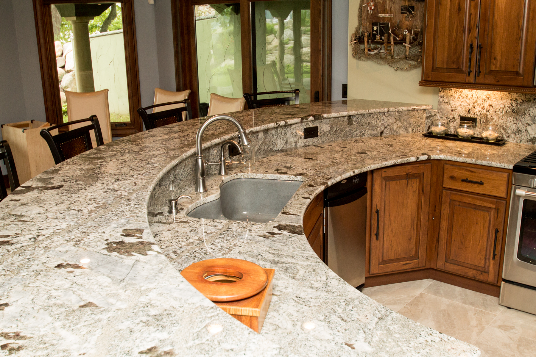Cambria  w quartz sink