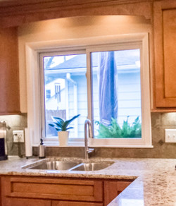 Kitchen remodel and window replacement