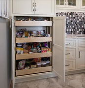 Blume Kitchen Full Extension Pantry Draw