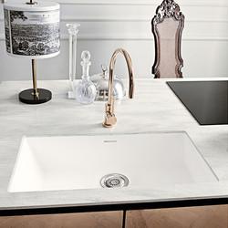 Corian integrated sink