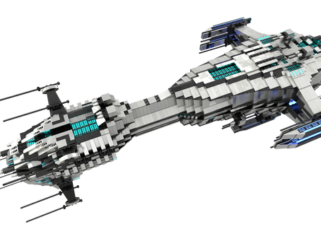 (RP) Sector Rim Federation Defence Fleet (SRFDF) Seralo-class MKI Heavy Cruiser