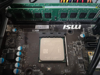 Athlon 5350 in Socket FSb1 (AM1)