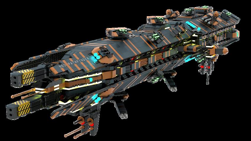 (Eridonia Free Peoples' Fleet) (Capital) Pathfinder