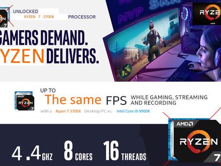 Gamers Demand. Ryzen Delivers.