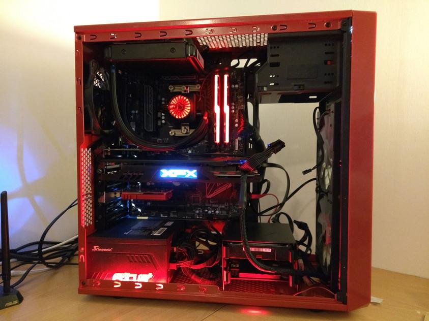 XFX RX 480 GTR build