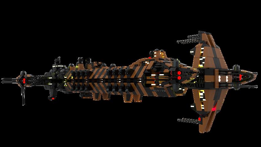 (Eridonia Free Peoples' Fleet) (Cruiser) Imerivm