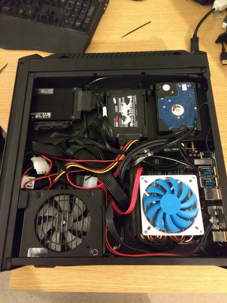 A mini ITX PC I once built