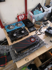 Selection of Graphics Cards