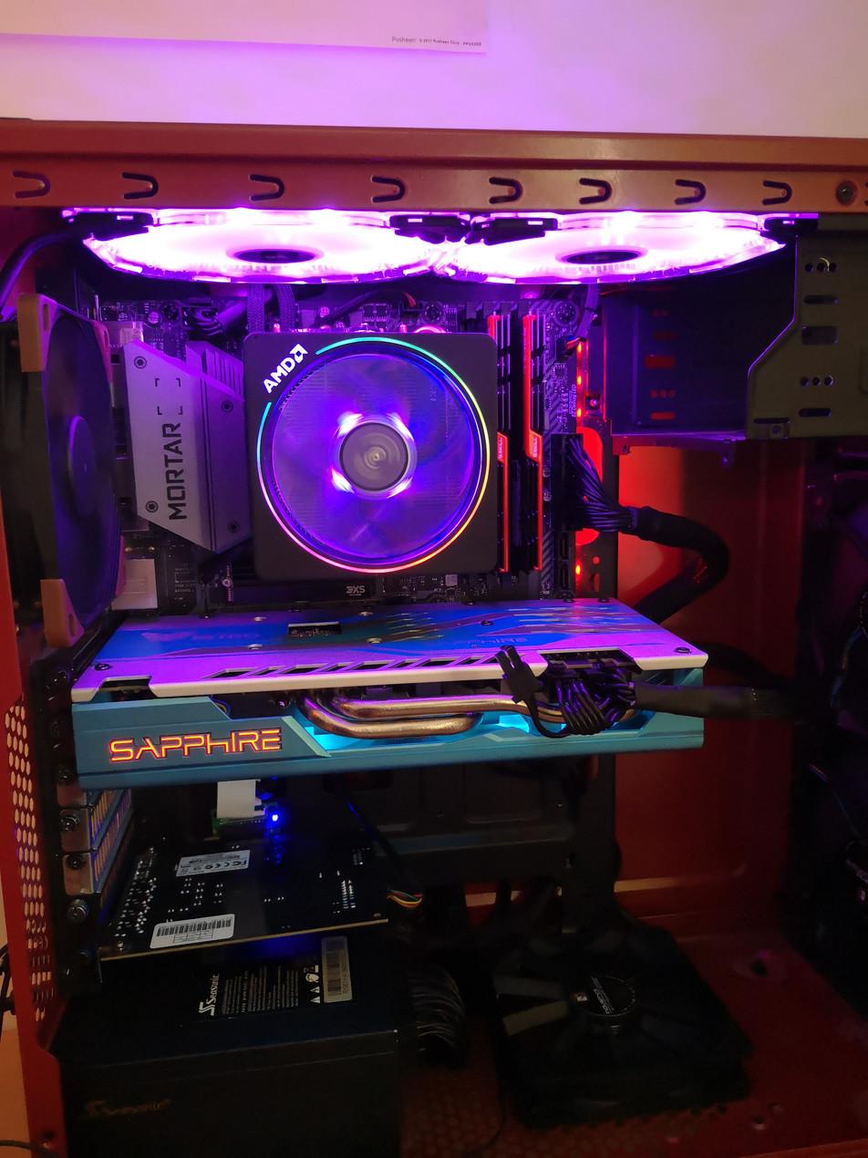 My PC with Sapphire RX 590 Nitro+ SE