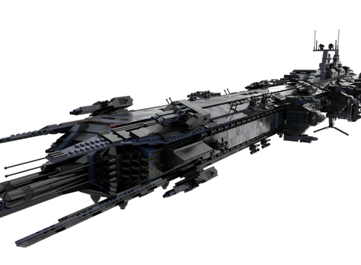 """[Role Play] RT-AX """"Retribution II""""-class Dreadnought. [Updated with S1A variant]."""