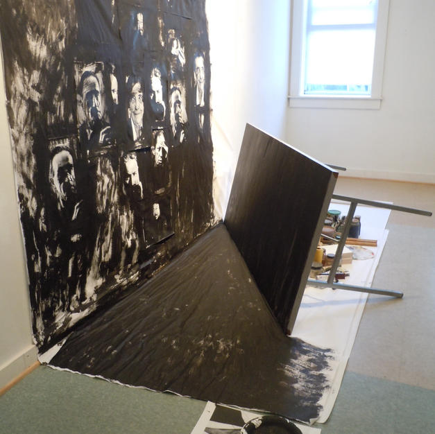 """""""The Artist's Studio 3-permeability and comradery"""", 2011"""