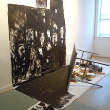 """""""The Artist's Studio 3-permeability and comradery"""" 2011"""