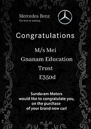 M_s Mei Gnanam Education Trust	 E350d .j
