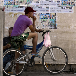 Le cycliste / La Marsa