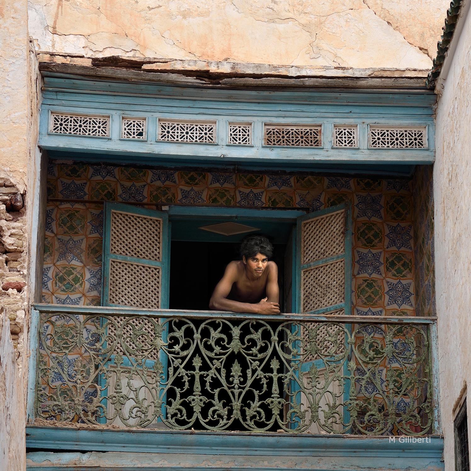 Le balcon de faïences