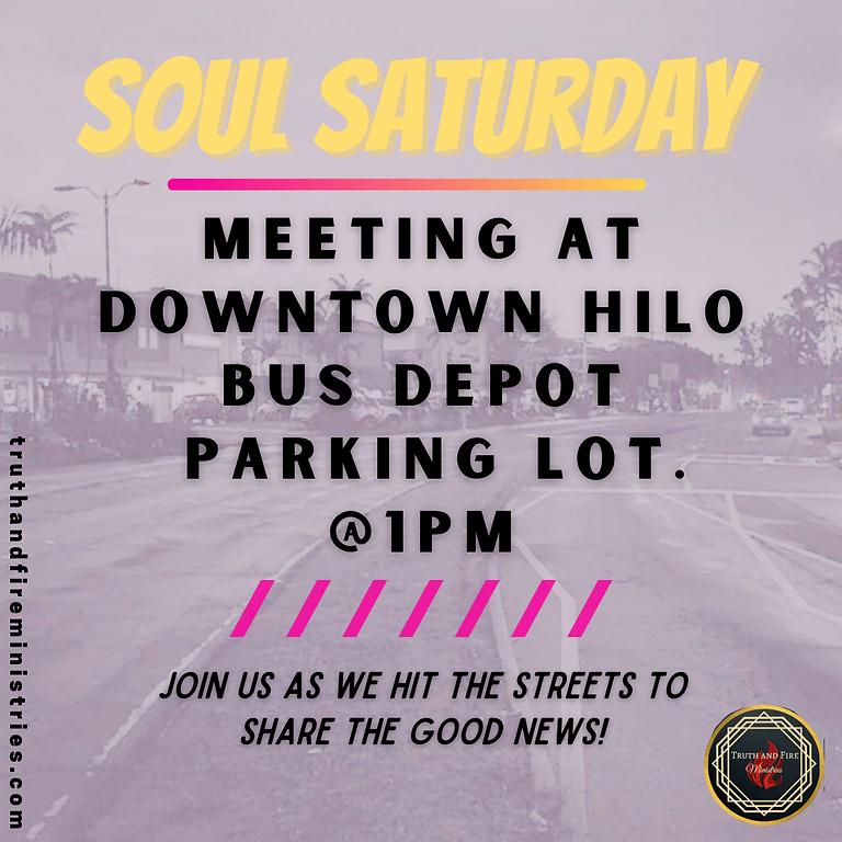 Soul Saturday Street Evangelism