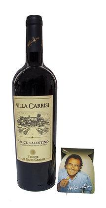 VILLA CARRISI SALICE SALENTINO IGP ROSSO - Bottiglia lt. 0,750