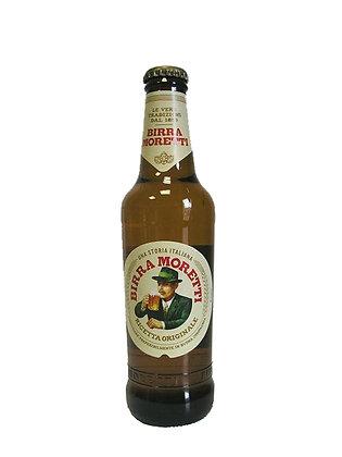 BIRRA MORETTI BOTTIGLIA CONFEZIONE 24 Bottiglie lt. 0,330