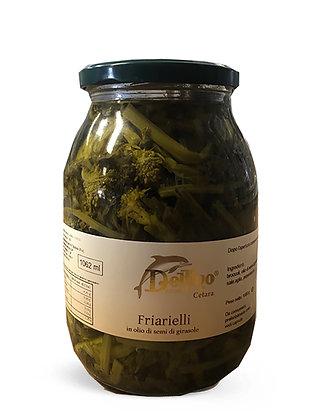 FRIARIELLI IN OLIO DI GIRASOLE  - Kg. 1,062