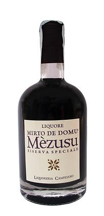 MIRTO DE DOMU ME'ZUSU RISERVA SPECIALE 36° Orig. Sardo - Bottiglia lt . 0,500