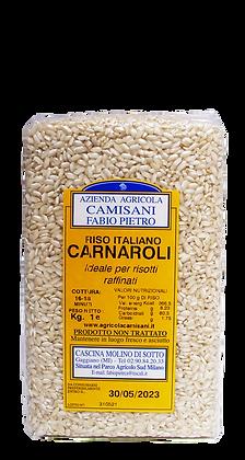 RISO CARNAROLI SOTTOVUOTO 100% ITALIANO  - Kg. 1.00