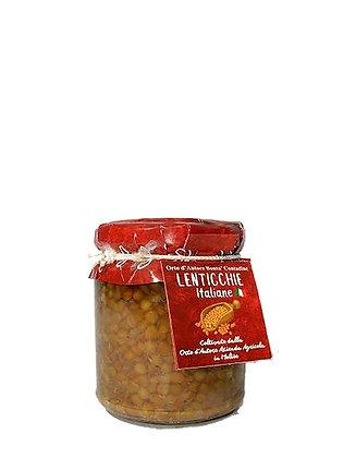 LENTICCHIE AL NATURALE  100% ITALIANE - Gr. 310